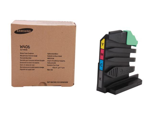 SAMSUNG CLT-W406, W406 waste toner unit for SL-C410, SL-C460, CLP-365W, CLX-3305FW, C416FW Yellow