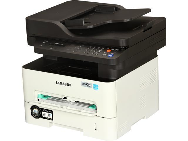 Samsung SL-M2875FW/XAA MFC / All-In-One Monochrome Wireless 802.11b/g/n Laser Printer