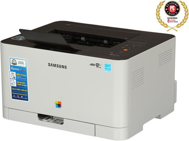Samsung Xpress C410W (SL-C410W/XAA) Duplex 2400 dpi x 600 dpi wireless/USB color Laser Printer
