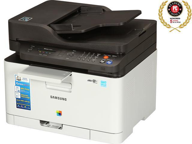 samsung xpress sl c460fw xaa color wireless multifunction laser printer. Black Bedroom Furniture Sets. Home Design Ideas