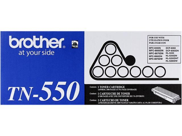 brother TN550 Toner Cartridge Black