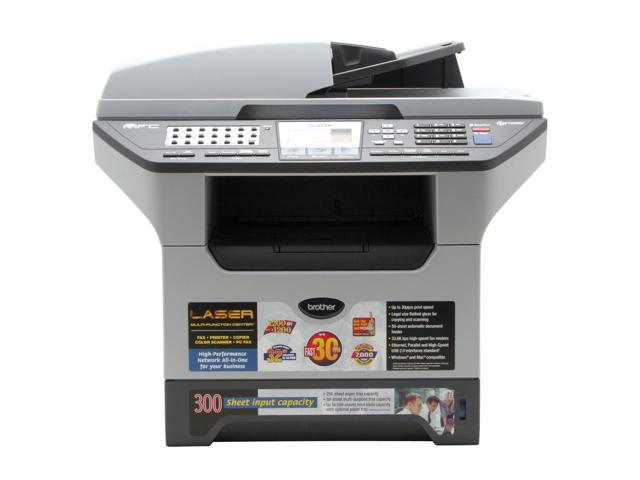 brother MFC Series MFC-8460N MFC / All-In-One Up to 30 ppm Monochrome Laser Printer