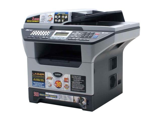 brother MFC Series MFC-8860DN MFC / All-In-One Up to 30 ppm Monochrome Laser Printer