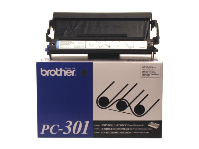 brother PC301 Fax Cartridge Black