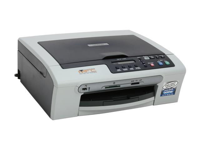 Brother DCP series DCP-130C Up to 25 ppm Black Print Speed 6000 x 1200 dpi Color Print Quality InkJet MFC / All-In-One Color Printer