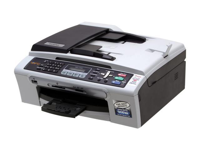 Brother MFC series MFC-240C Up to 25 ppm Black Print Speed 1200 x 6000 dpi Color Print Quality InkJet MFC / All-In-One Color Printer