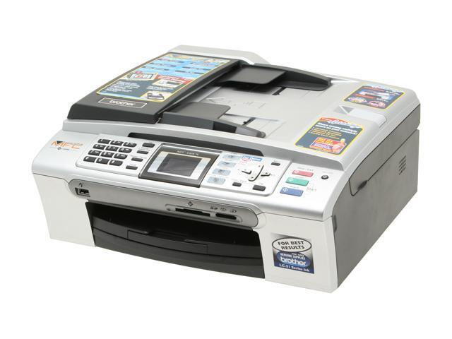 Brother MFC series MFC-440cn Up to 25 ppm Black Print Speed 6000 x 1200 dpi Color Print Quality InkJet MFC / All-In-One Color Printer
