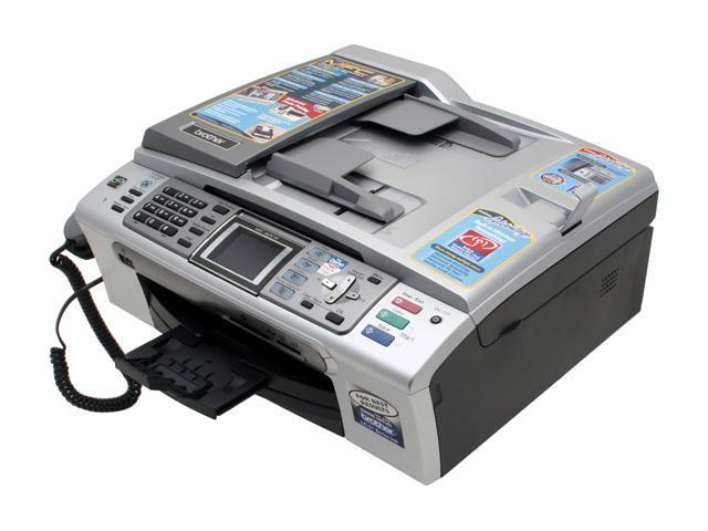 Brother MFC series MFC-665cw Up to 27 ppm Black Print Speed 6000 x 1200 dpi Color Print Quality Wireless InkJet MFC / All-In-One Color Printer