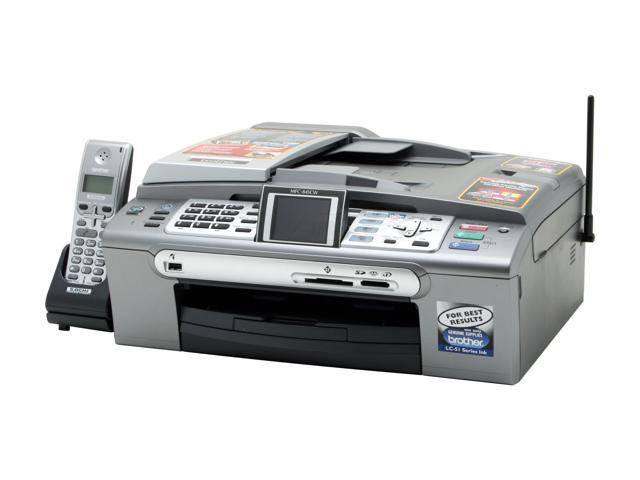 Brother MFC series MFC-845cw up to 27ppm Black Print Speed 6000 x 1200 dpi Color Print Quality InkJet MFC / All-In-One Color Printer