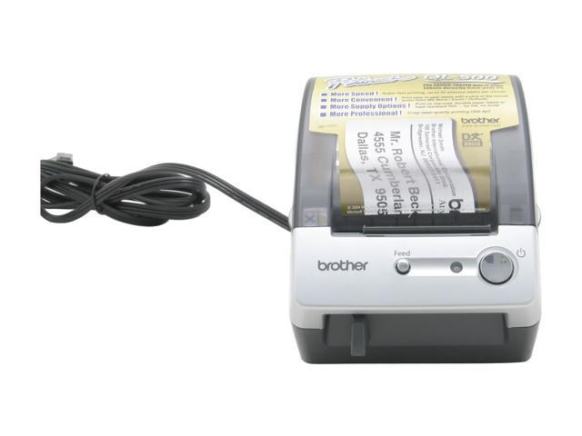 brother QL500 Affordable Label printer 300 x 300 dpi, 50 labels / min.