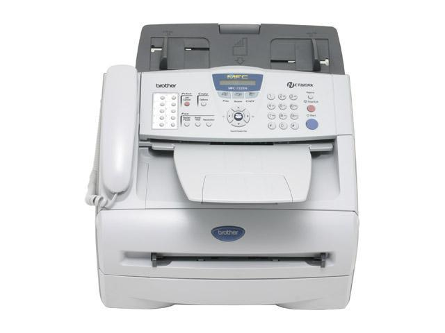 brother MFC-7225N Up to 20 ppm Monochrome Laser Multi-Function Center