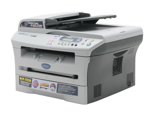 brother DCP Series DCP-7020 MFC / All-In-One Up to 20 ppm Monochrome Laser Printer