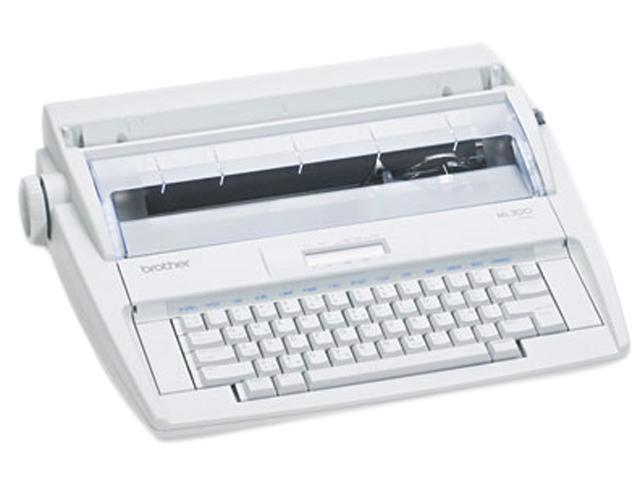 brother ML300 Daisy Wheel Display Typewriter with Dictionary