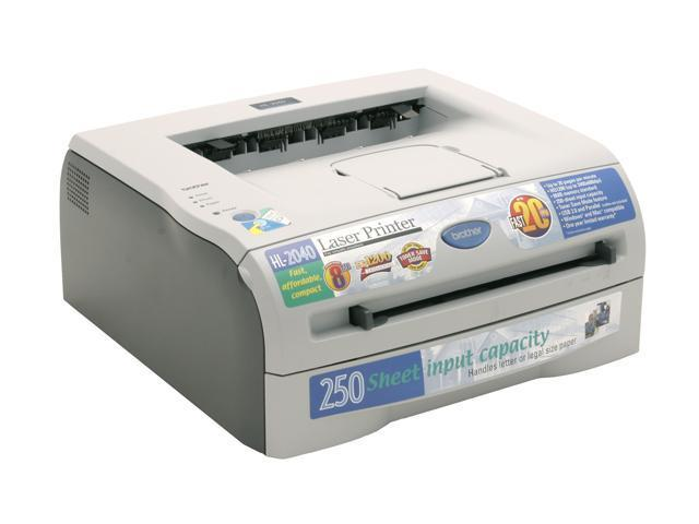 brother HL Series HL-2040 Personal Up to 20 ppm Monochrome Laser Printer