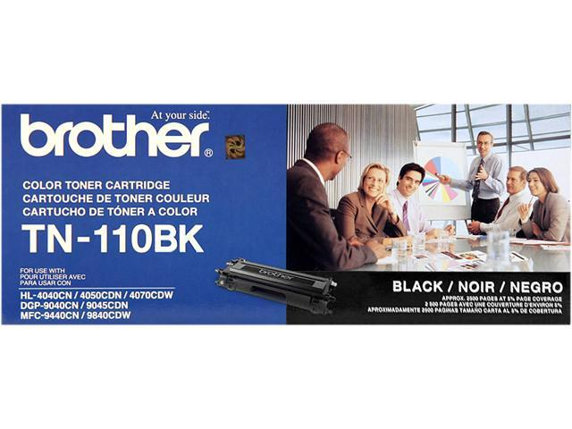 brother TN-110BK Toner Cartridge for HL-4040CN, HL-4070CDW, MFC-9440CN, MFC9840CDW Black