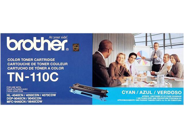 brother TN-110C Toner Cartridge for HL-4040CN, HL-4070CDW, MFC-9440CN, MFC9840CDW Cyan