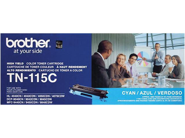 Brother TN115C High Yield Toner Cartridge - Cyan