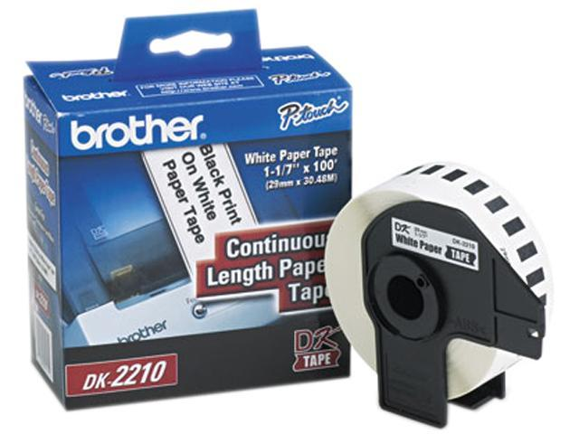 Brother DK2210 Continuous Paper Label Tape, 1.1