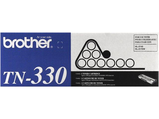 Brother TN330 Toner Cartridge 1,500 Page Yield; Black