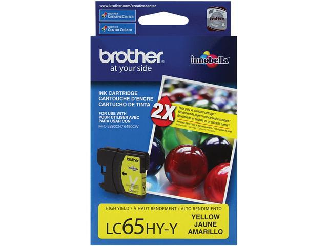 Brother LC65HYY High Yield Innobella Ink Cartridge - Yellow