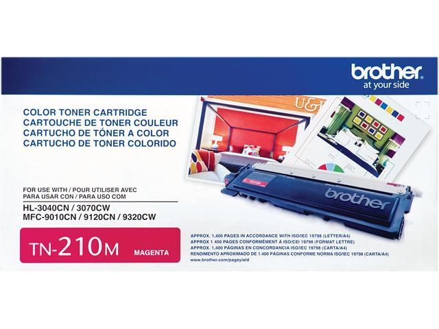Brother TN210M Toner Cartridge 1,400 Page Yield&#59; Magenta