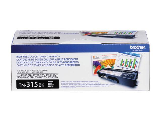 brother TN315BK High Yield Toner Cartridge Black