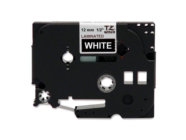 "Brother TZE-335 TZ Label Tape Cartridge 0.50"" x 26.20 ft - 1 Each - White"