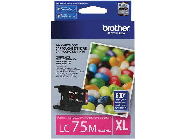 brother LC75M Innobella High Yield (XL Series) Ink Cartridge Magenta