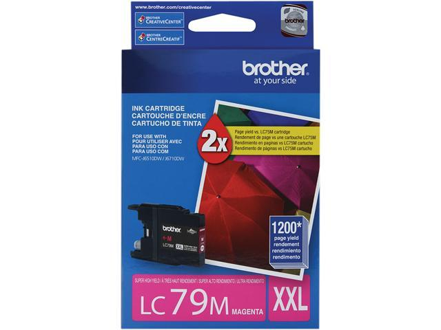 brother LC79M Innobella Super High Yield (XXL Series) Ink Cartridge Magenta