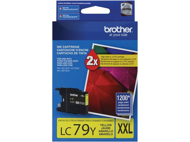 brother LC79Y Innobella Super High Yield (XXL Series) Ink Cartridge Yellow