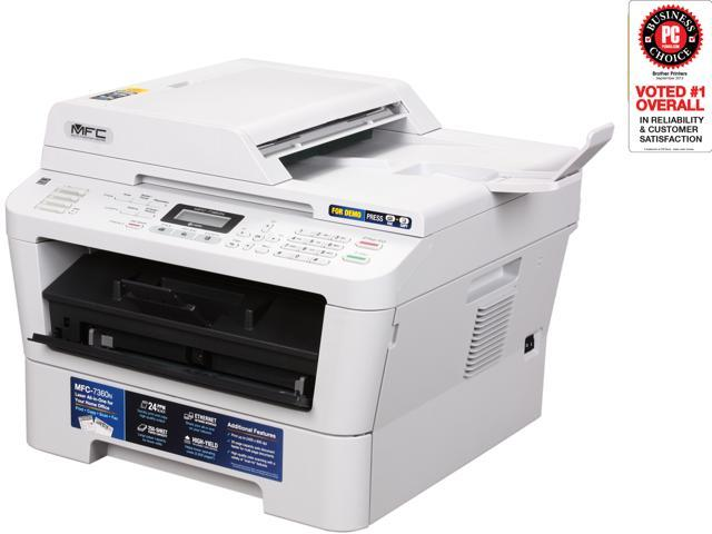 Brother MFC Series MFC-7360N MFC / All-In-One Monochrome Laser Printer with Networking