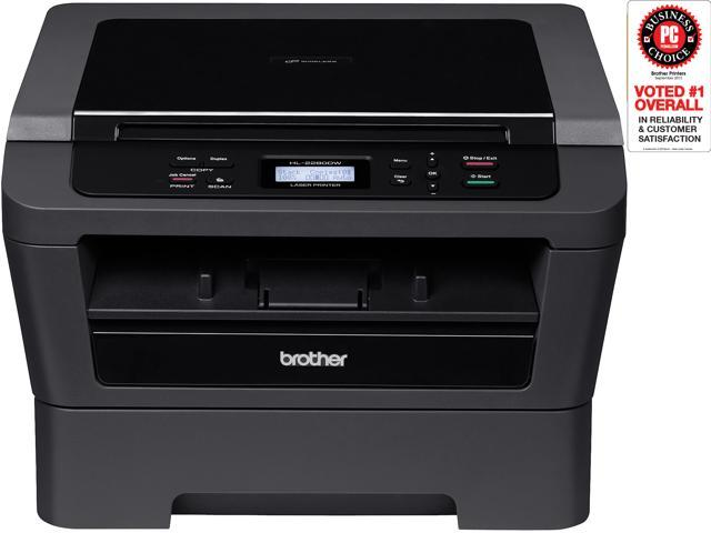 Brother HL HL-2280DW MFC / All-In-One Monochrome Wireless 802.11b/g/n Laser Printer