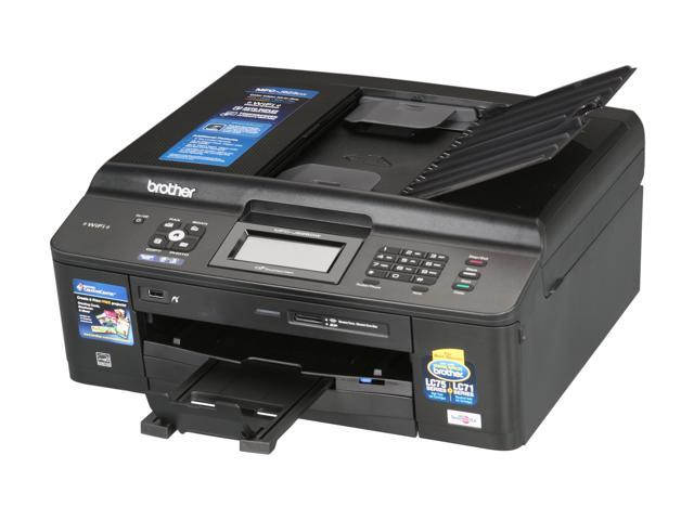 Brother MFC series MFC-J625DW Up to 35 ppm Black Print Speed 6000 x 1200 dpi Color Print Quality Wireless (802.11 b/g/n) InkJet MFC / All-In-One Color Printer