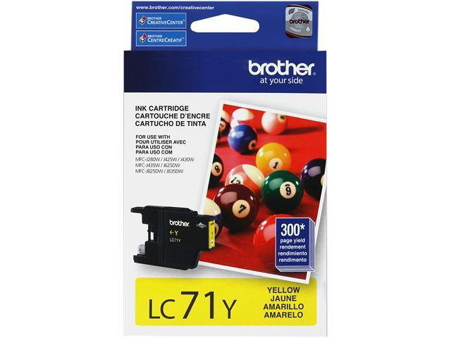 Brother LC71Y Innobella Ink Cartridge - Yellow