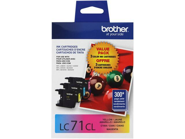 brother Innobella LC713PKS Ink Cartridges 300 Page Yield; Cyan, Magenta, Yellow