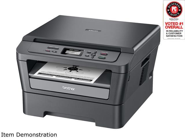 Brother DCP-7060D Monochrome Multifunction Laser Printer