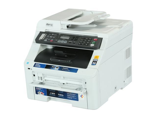 Brother MFC Series MFC-9325CW MFC / All-In-One Up to 19 ppm 600 x 2400 dpi Color Print Quality Color Wireless 802.11b/g/n Digital Color LED Printer