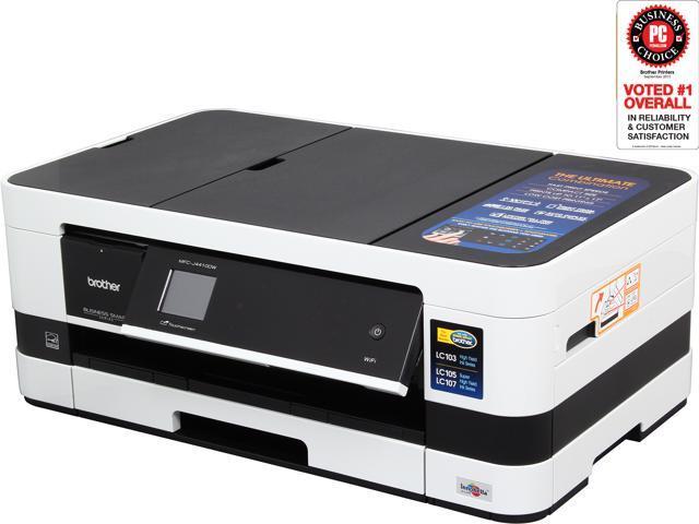 brother mfc j4410dw wireless color multifunction inkjet printer. Black Bedroom Furniture Sets. Home Design Ideas