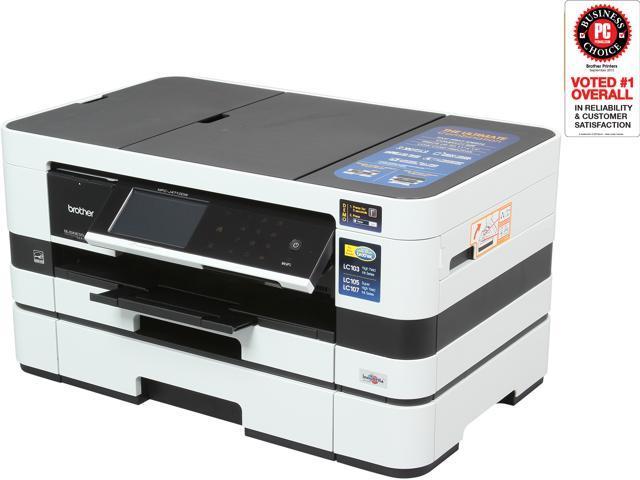 Brother MFC-J4710DW Wireless Color Multifunction Inkjet Printer