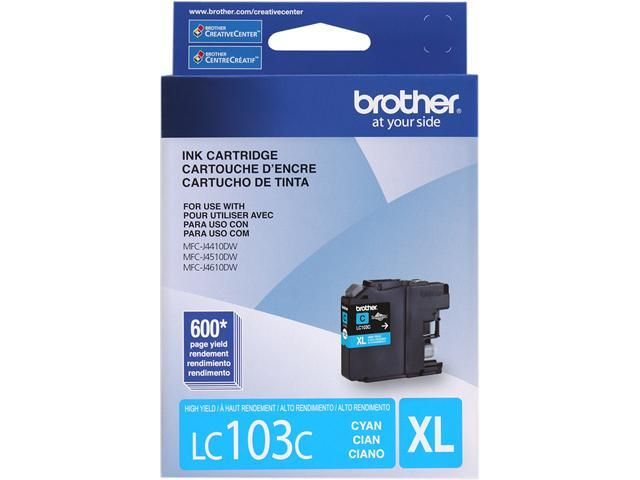 brother LC103CS Ink Cartridge Cyan