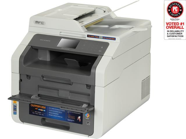 Brother MF-9130CW Digital Color All-In-One Laser Printer with Wireless Networking