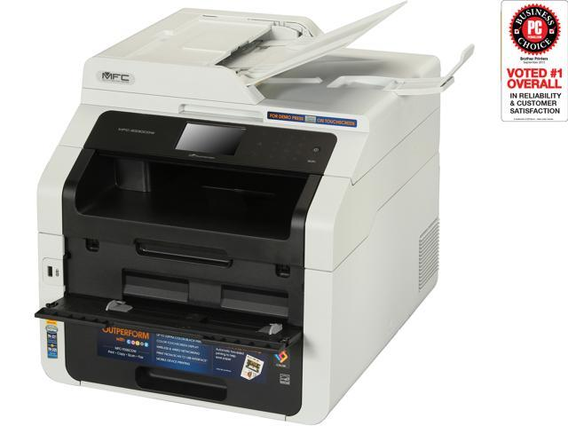 Brother MF-9330CDW Digital Color All-In-One Laser Printer with Wireless Networking and Duplex Printing
