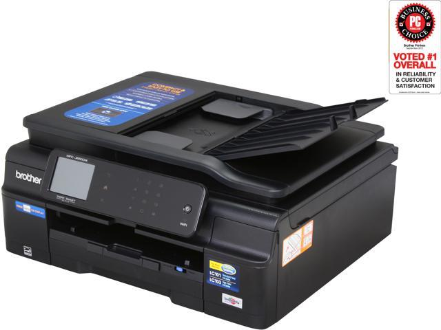 Brother MFC-J650dw Apple AirPrint Google Cloud Print Brother iPrint&Scan InkJet Plain Paper Print Color Printer