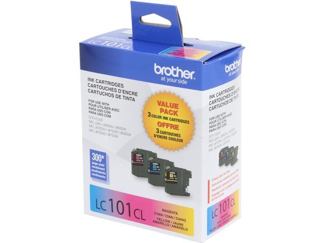 Brother Innobella LC1013PKS Ink Cartridge 300 Page Yield; Cyan, Magenta, Yellow