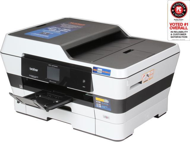"Brother MFC-J6720DW Professional Series All-In-One Inkjet Printer with up to 11""x17"" Printing and Wireless Networking"
