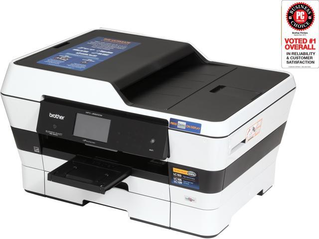 Brother MFC-J6920DW Duplex 6000 dpi x 1200 dpi Wireless / USB Color Inkjet Printer with up to 11.00
