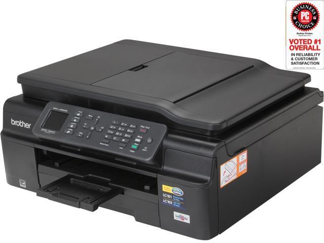 Brother MFC-J450dw 6000 x 1200 dpi USB/Wireless Duplex InkJet MFP Color Printer