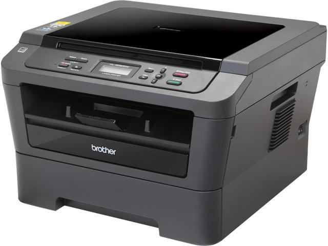 Brother EHL2280DW Up to 27 ppm 2400 x 600 dpi USB/Ethernet/Wireless Monochrome Duplex Laser Multifunction Printer