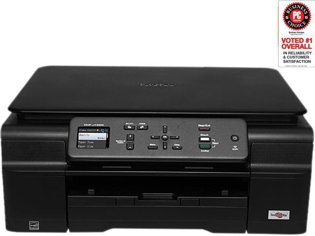 Brother DCP-J152W Wireless Monochrome Multifunction Inkjet Printer