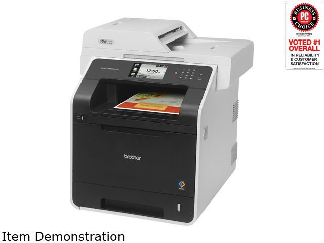 Brother MFC-L8850CDW Duplex 2400 dpi x 600 dpi Wireless / USB Color Laser Printer